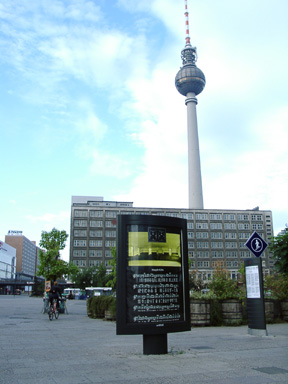 Project at Alexanderplatz, Berlin