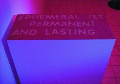 Ephemeral (2001), sand